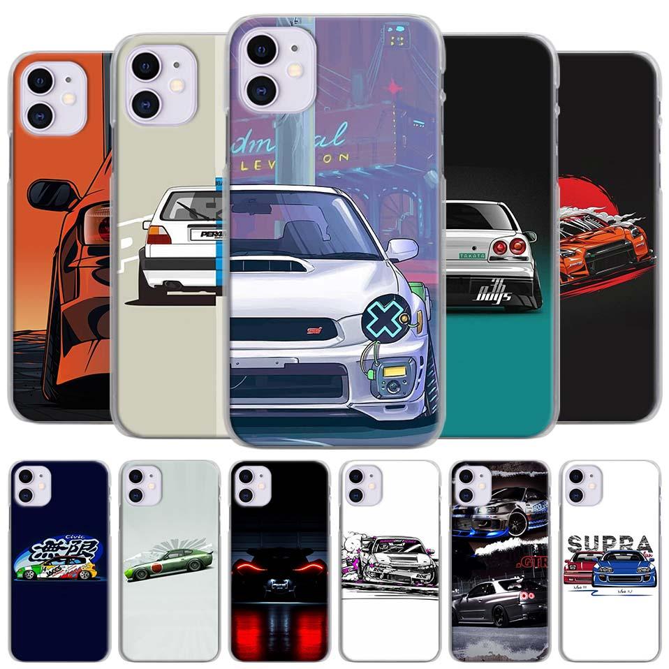 Caliente Nurburgring carreras de Super GTR cajas del teléfono para el iPhone de Apple 11 Pro Max X XR XS MAX 11 Pro 7 7 6 6s Plus 5 5S SE tapa dura