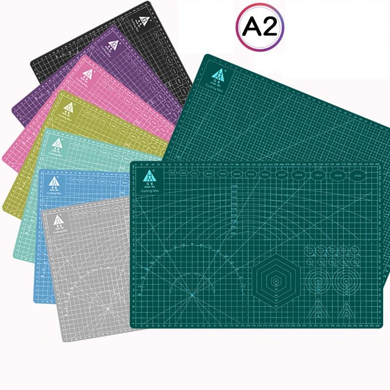 60*45 см A2 разделочная доска, коврик для камеи, самовосстанавливающаяся доска, многоцветная двусторонняя настольная разделочная доска Cricut доска разделочная петергоф 19х27см фанера