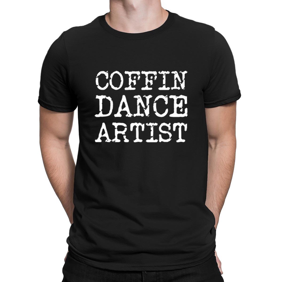 Ataúd danza artista de accidente al cementerio Camiseta de manga corta diseño Casual Kawaii luz del sol cuello redondo camisa