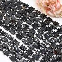 2strandslot black color eagle shape agate loose natural stone beads for woman diy necklace bracelets jewelry making strand 15
