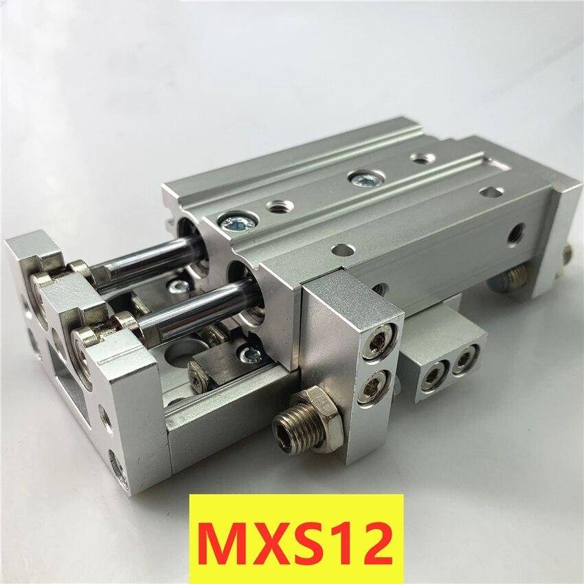 MXS MXS12L-10 جديد الأصلي حقيقية الشريحة دليل اسطوانة الهوائية MXS12-10A MXS12-10AS MXS12-10AT MXS12-10B MXS12-10BT MXS12-10C