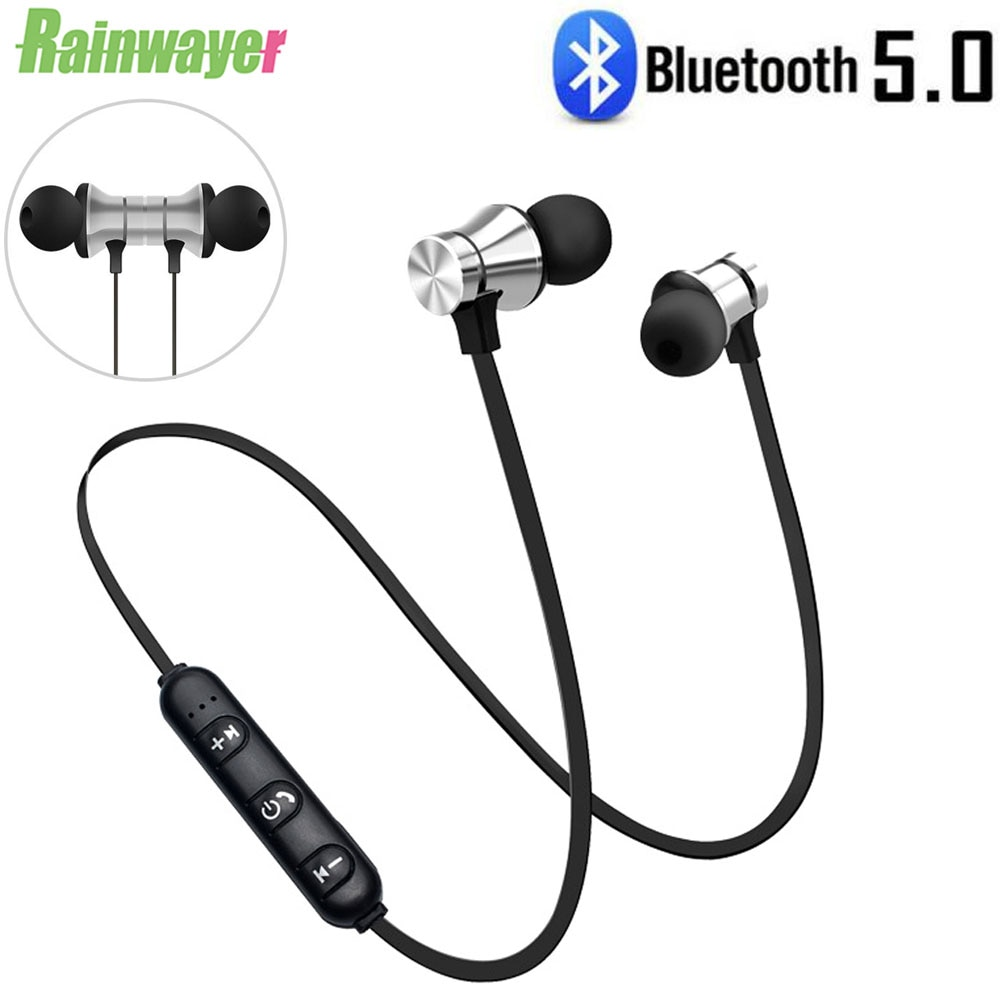 XT11 Wireless Bluetooth Kopfhörer Stereo Sport Ohrhörer Magnetische Drahtlose in-ear-Headset mit Mic Hands-free Für IPhone 7 Samsung