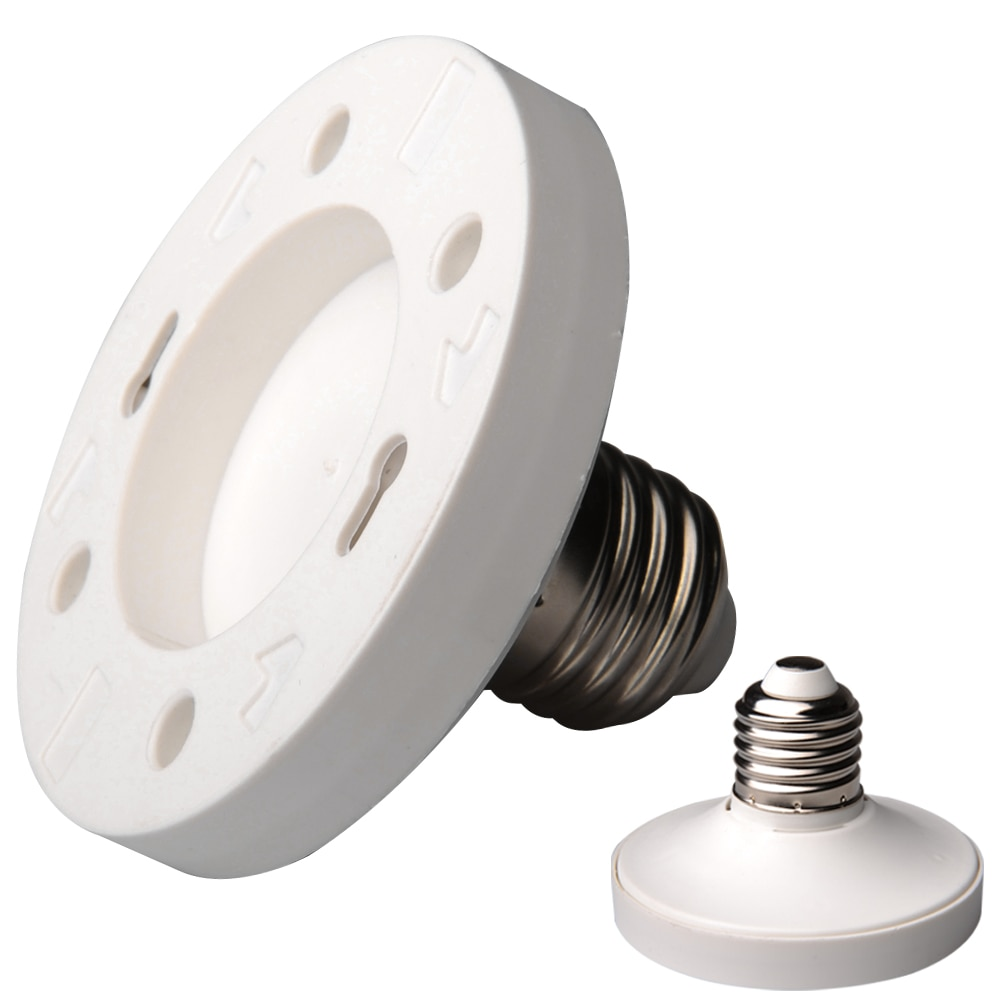 E27 à GX53 ampoule adaptateur support de lampe ignifuge PBT intérieur universel Base ignifuge facile installer usage domestique support #734