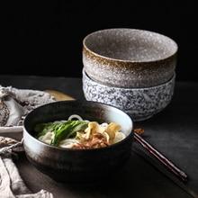 Bol en céramique japonais ramen   Grand bol ménager bol à soupe à nouilles créatif bol à nouilles instantanées vaisselle de restaurant commercial