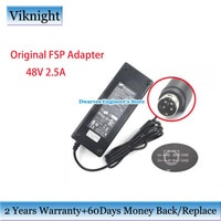 Genuine FSP120-AFB 48V 2.5A 120W Power supply adapter FSP120-AFA For Ci SCO SG300 SG-300-10P SF302 SG200-08P FSP AC Charger 4Pin