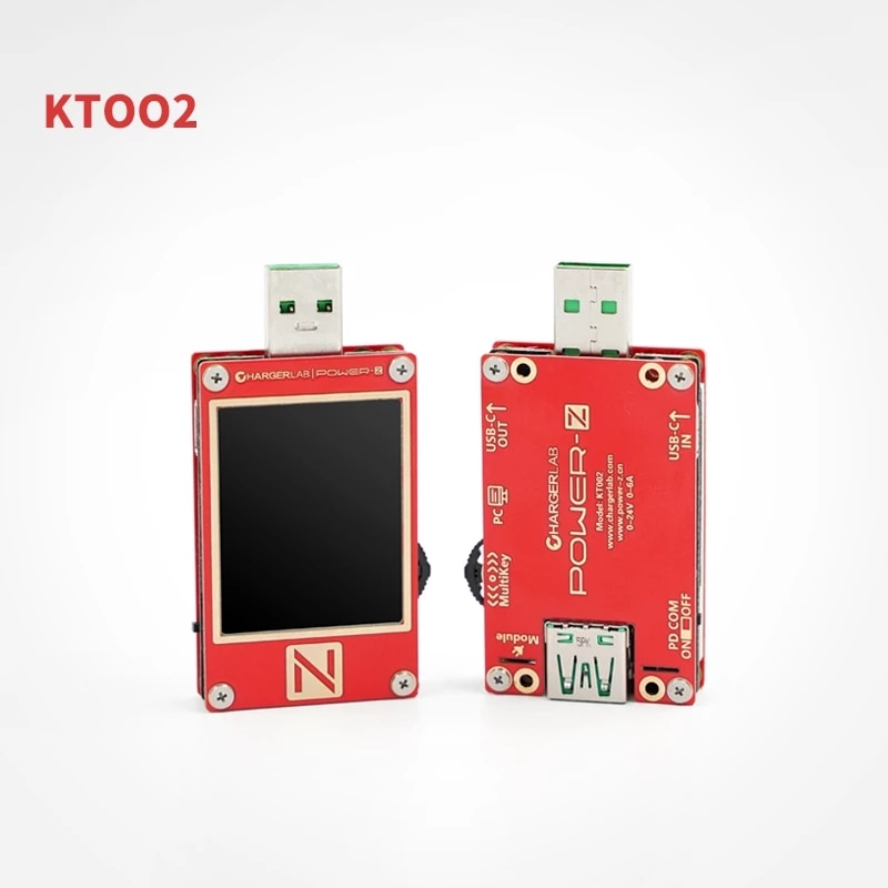 ChargerLAB POWER-Z USB PD أداة خداع الجهد KT002 اختبار PD QC