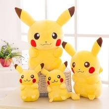 2020 TAKARA TOMY Pokemon Pikachu Plush Toys Stuffed Toys Japan Movie Pikachu Anime Dolls Christmas B