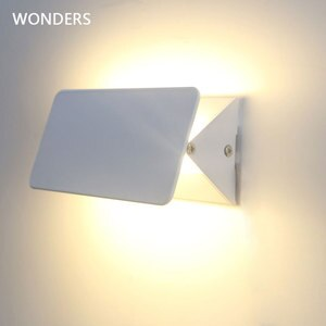 New Modern 5W 10W 16W White LED Wall Lamp Flexible high brightness Bedside Bathroom indoor Wall Background wall Lighting