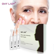 OMY LADY Collagen Eye Cream Ageless Remove Dark Circles Eye Bags Under The Eyes Moisturising Anti Puffiness Whitening Eyes Skin