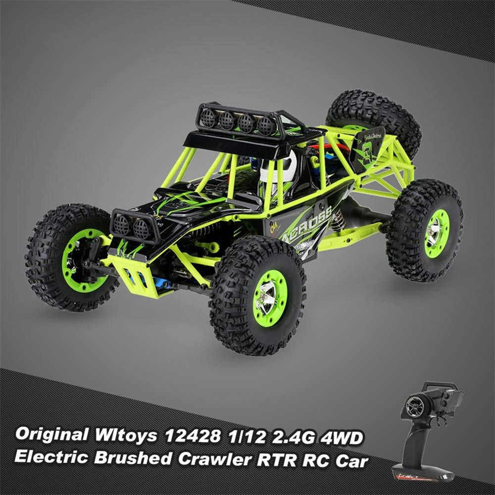 WLtoys 12428 1/12 RC Car 2.4G 4WD RC Car 50km/h High Speed Cars Monster Truck Radio Control RC Buggy Off-Road Electric Adult Toy enlarge