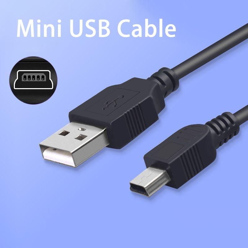 Мини USB-кабель для быстрой зарядки и передачи данных USB для MP3 MP4 плеера автомобильного видеорегистратора GPS цифровой камеры HDD шнур аксессуар...