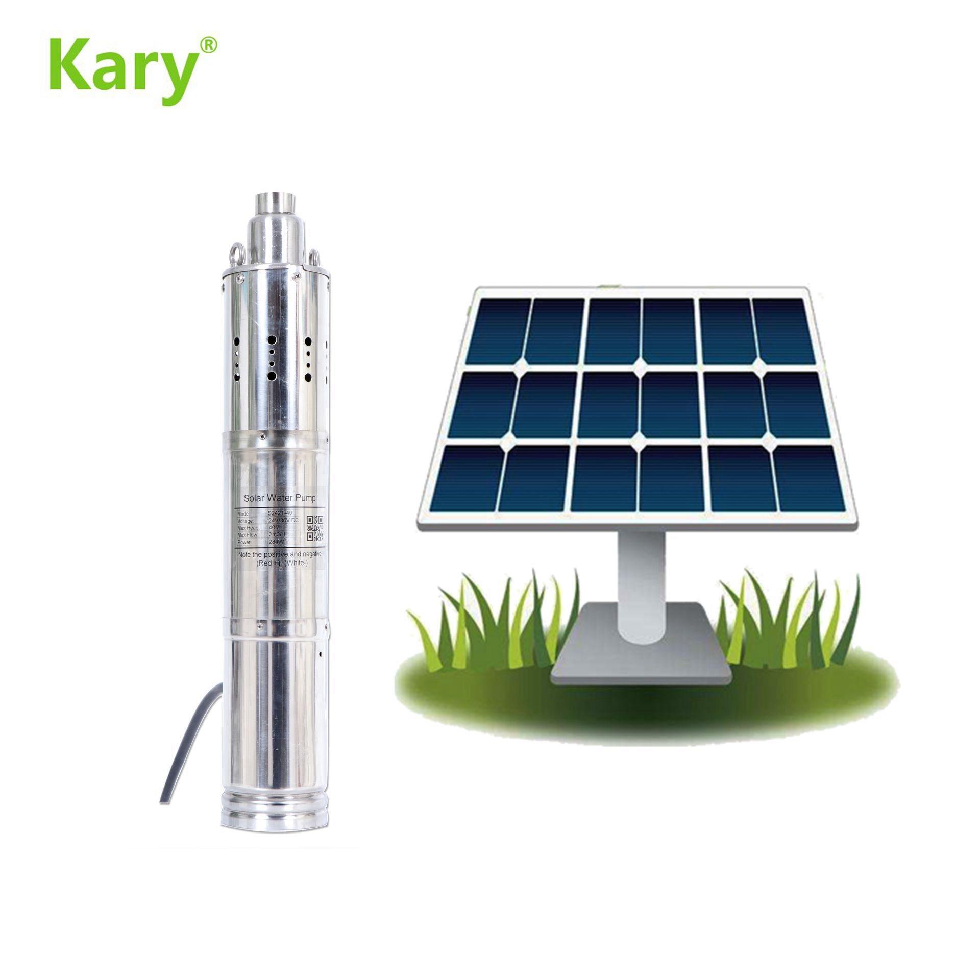 تيار مستمر 24 فولت الطرد المركزي للطاقة الشمسية مضخة قابلة للغمر في المياه ، وارتفاع ضغط آلة ضخ المياه ، 3 بوصة سعر مضخة الآبار العميقة