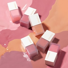 STAGENIUS Makeup Blusher for Face Oil-control Long-lasting 6 Colors Silky Natural Contour Liquid Che