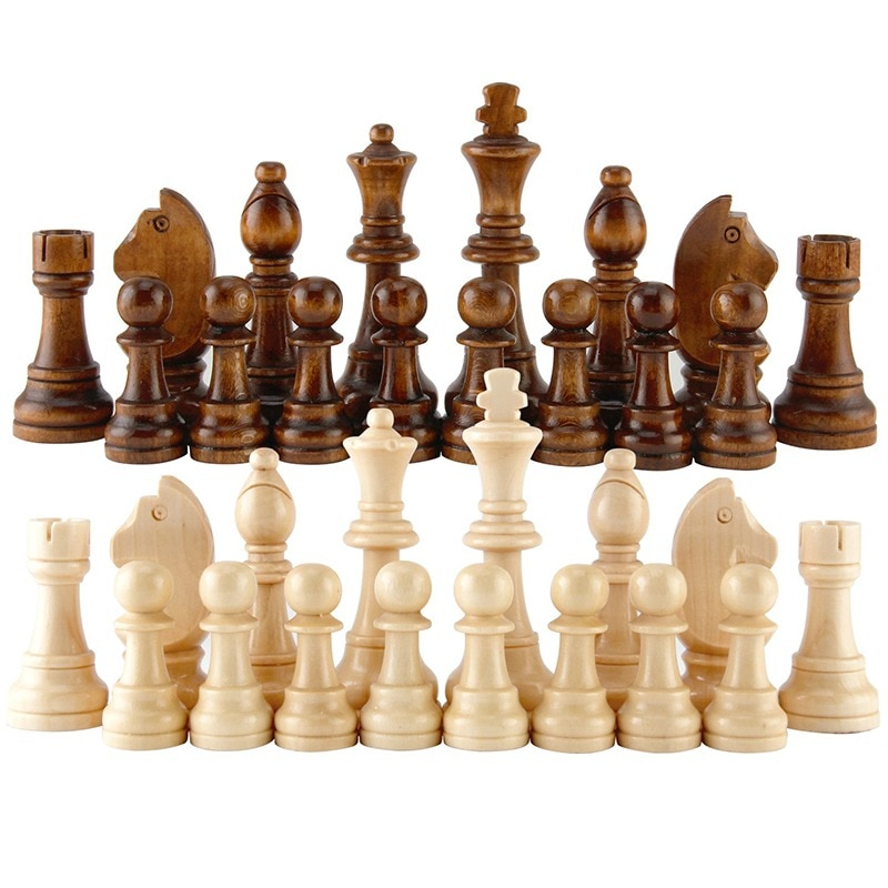 Chess, checkers and backgammon. Three games in one package. Various sizes.