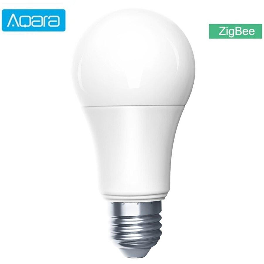 Aqara akıllı LED ampul Zigbee 9W E27 2700K-6500K beyaz renk akıllı uzaktan LED ampul ışığı xiaomi akıllı ev için mihome HomeKit