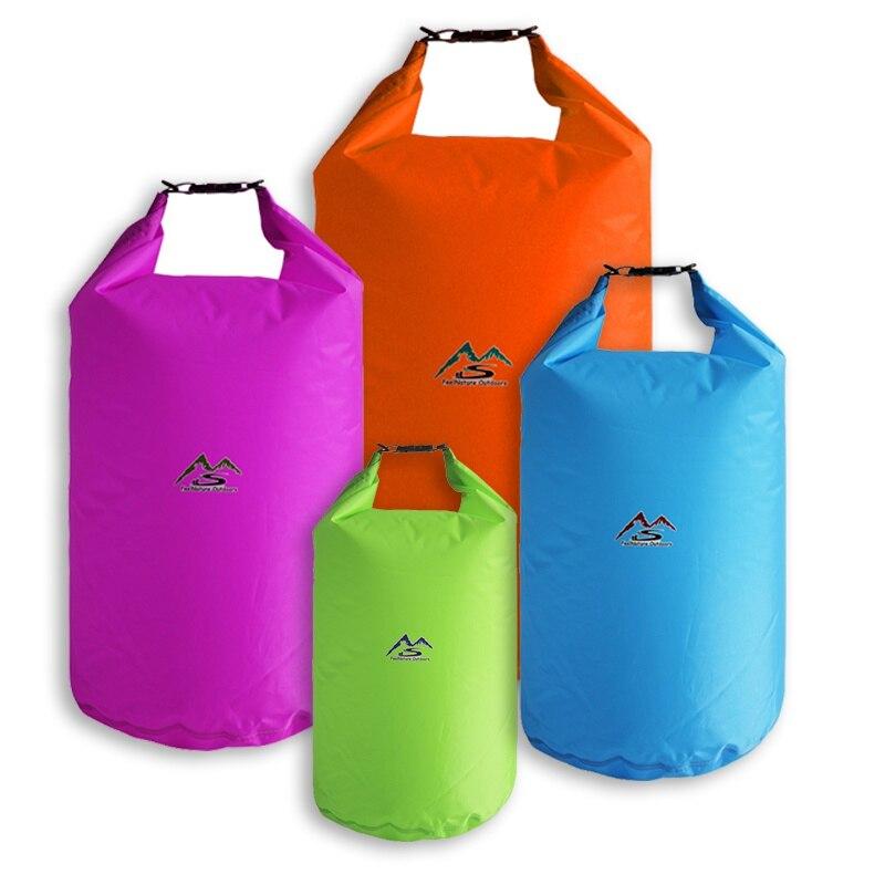 10l 20l translucent swimming waterproof bag storage dry bag swimming bag for canoe kayak rafting outdoor camping river trekking Outdoor Waterproof Dry Bag For Camping Drifting Hiking Swimming Rafting Kayaking River Trekking Bags