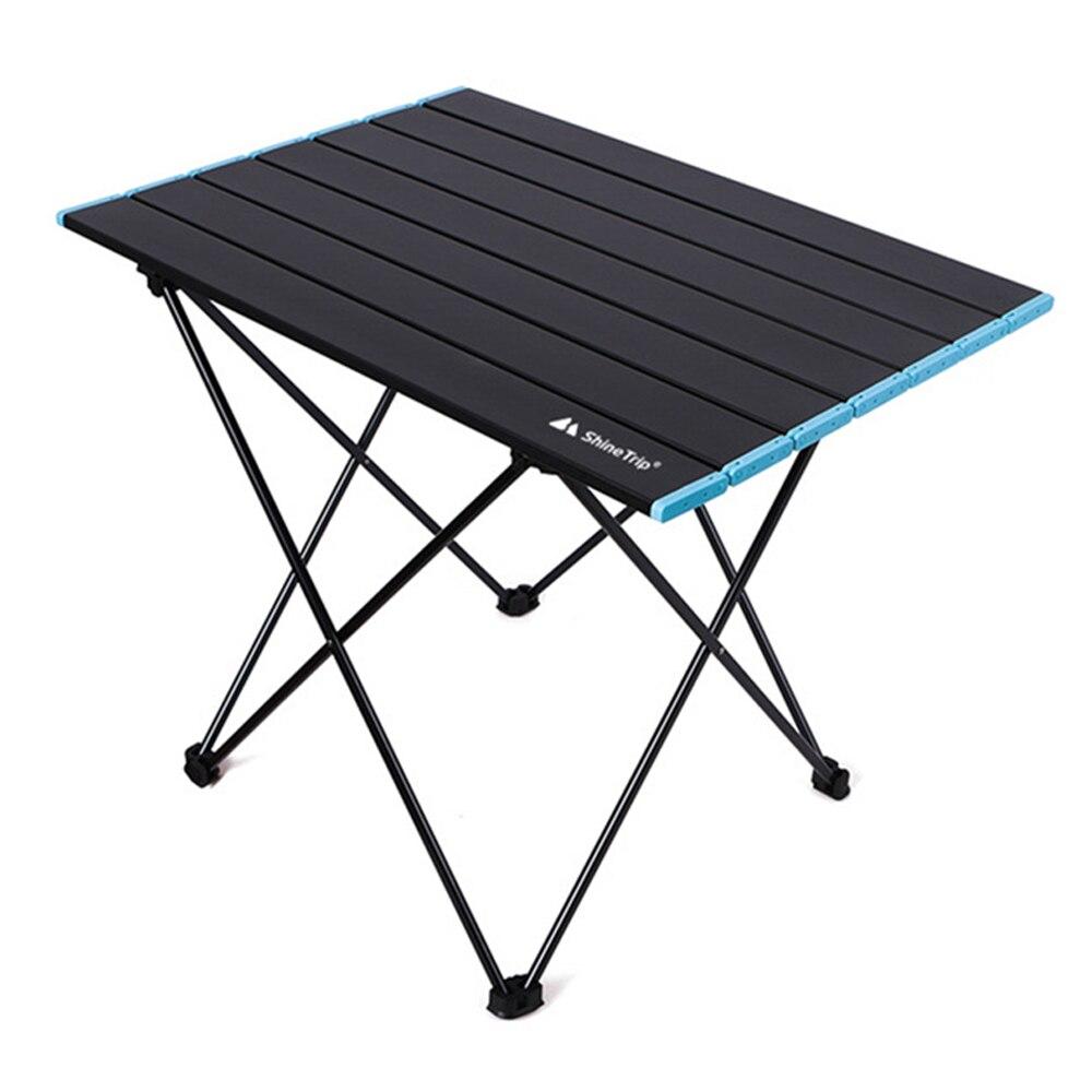 Mesa para acampar al aire libre, mesa plegable portátil, muebles de exterior,...