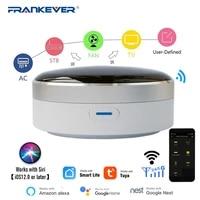 FrankEver     telecommande intelligente universelle IR  fonctionne avec lapplication Tuya WiFi   Hub de controle domestique infrarouge fonctionne avec Google Assistant Alexa Siri