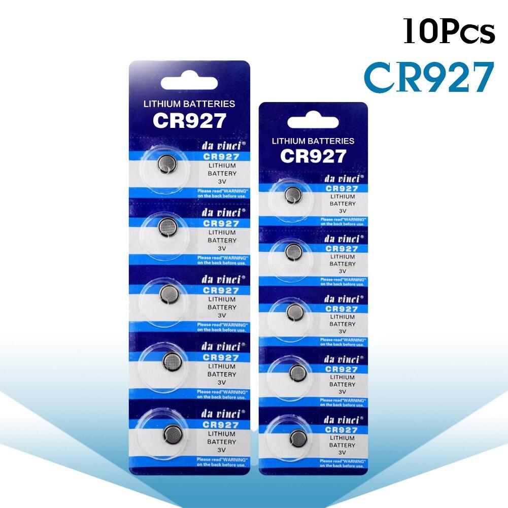 Nueva Promoción 10 unids/pack 3V CR927 de litio monedas las Pilas para...