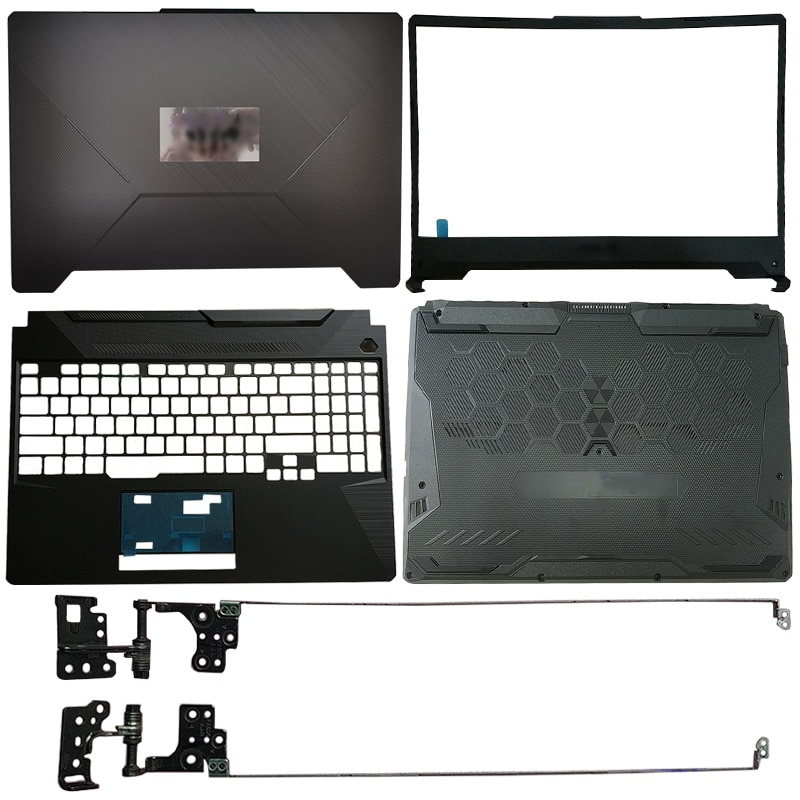 NEW Laptop  For ASUS FA506IU FA506 FX506 LCD Back Cover/Front Bezel/Hinges/Palmrest/Bottom Case new laptop for hp probook 450 g3 455 g3 computer case lcd back cover front bezel hinges cover palmrest bottom case bottom cover