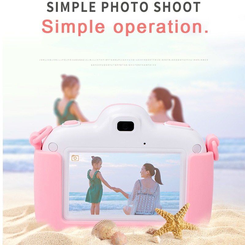 Mini Kids Camera Full HD Digital Camera Touch Screen LCD Photographic Cameras with Print enlarge