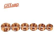 Bobine dinductance de croisement de haut-parleur 1.5mm, bobine 4N en cuivre sans oxygène 0,3mh 0,5mh 1,0mh 1,5mh 2,1mh 1 pièce