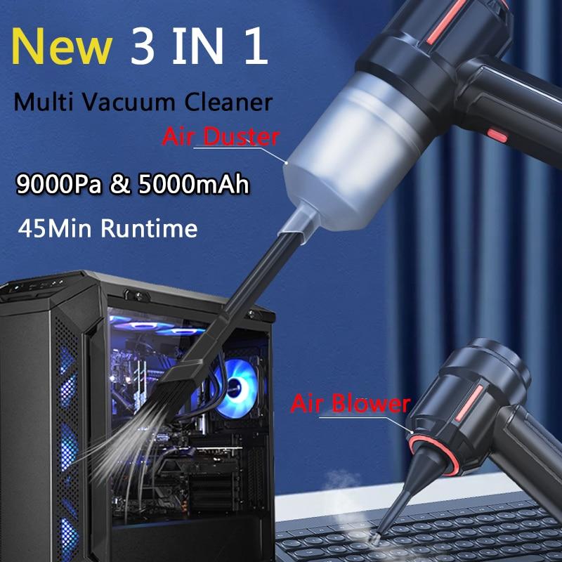 Аккумуляторный мини-пылесос Air Duster, 40000 об/мин