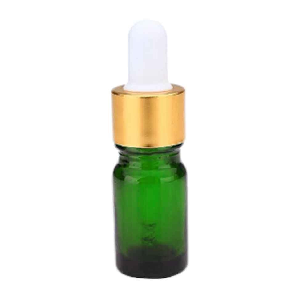 1pc Empty Dropper Bottle 10ml Essential Oil Glass Aromatherapy Liquid Dropper Bottle for Refillable Massage Pipette Sub-bottles