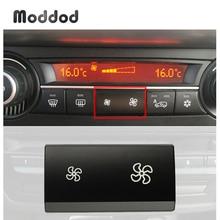 مروحة زر غطاء لسيارات BMW X5 E70 X6 E71 2006-2014 تكييف الهواء سخان التحكم في المناخ التبديل مفتاح فصل للسيارة غطاء اكسسوارات السيارات