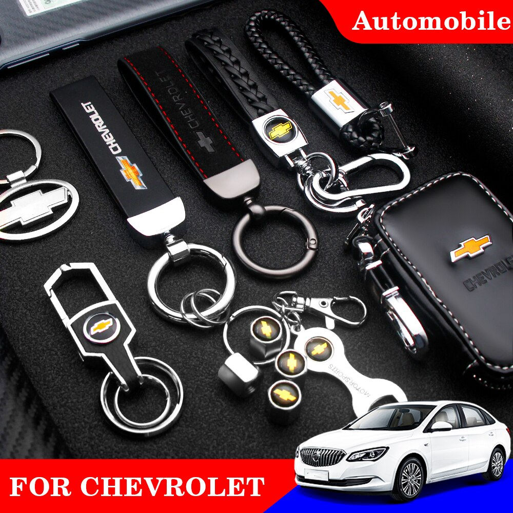 AliExpress - 1pc Car Key Ring Metal l Alloy Leather Lanyard Logo Keychain Holder Key Chain Case for Chevrolet Cruze Captiva Lacetti Spark Ave