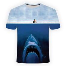 T-shirt de pêche poisson décontracté nouveau T-shirt dimpression 3d T-shirt pour hommes et femmes chemise et T-shirt à manches courtes à col rond dété