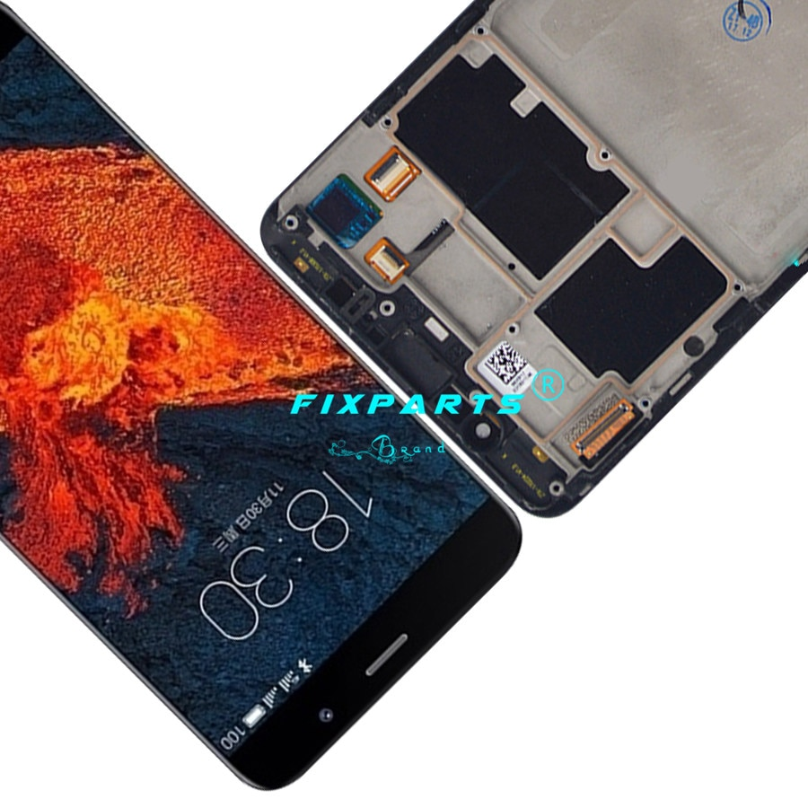 5.7'' AMOLED Screen Meizu pro 6 plus LCD Screen Display + Touch Panel Digitizer With frame Meizu Pro 6 Plus LCD White / Black enlarge