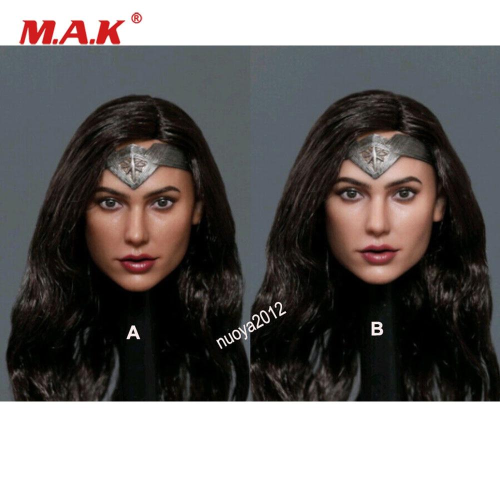 GACTOYS 1/6 أنثى رئيس عجب بنات غال غادوت GC037 نحت الشعر المزروع نموذج ل 12