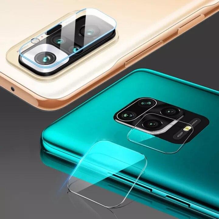 100 шт. задняя камера объектив Защитная крышка для Xiaomi Redmi Примечание 10 5G 8 9 7 Pro 9S-9T, 8T 10X задняя крышка для объектива Защитная плёнка из закалённ...