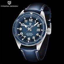 PAGANI DESIGN Top Brand Watch Men Fashion Blue Watch Luminous Dial Sapphire Mirror Waterproof Mechan
