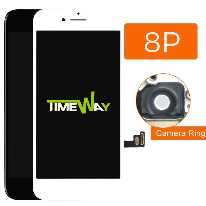 Categoria aaa tm oem para iphone 8 mais lcd tela de toque com toque 3d para iphone 8 plus lcd montagem com ferramenta