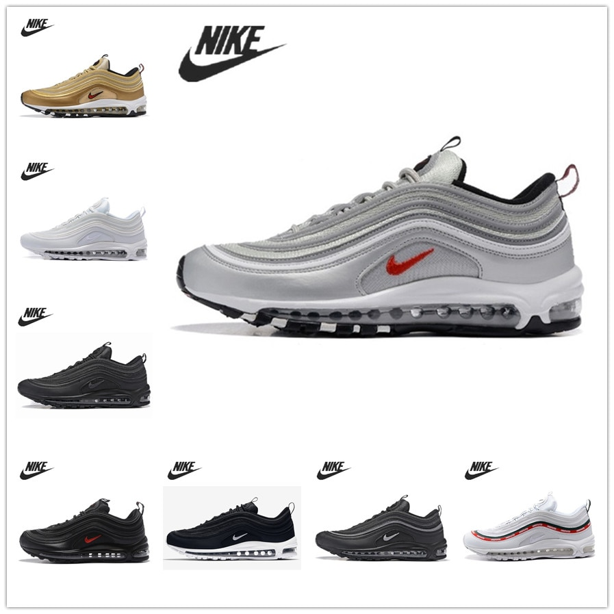 NEW Men 97 Running Shoes Cushioning Sport Male Sneakers Breathable Zapatillas Hombre Deportiva Outdoor Walking Jogging Shoes