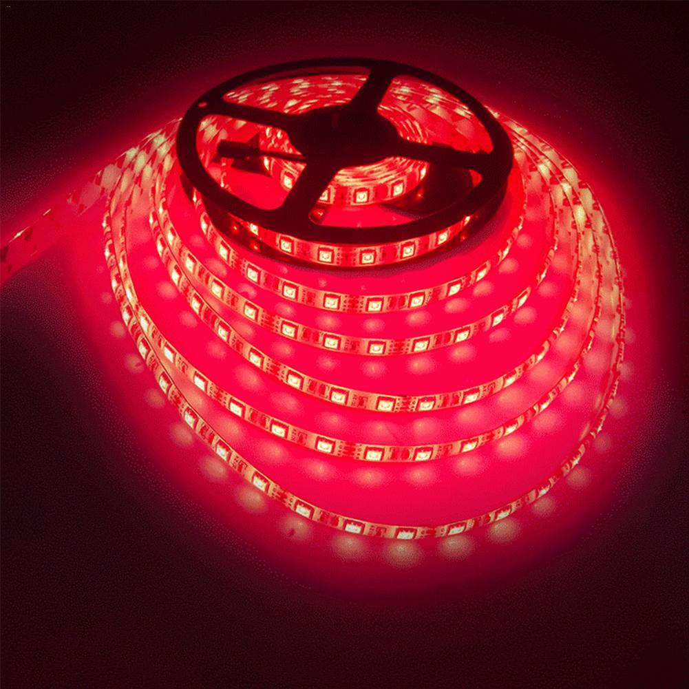 Luces de tira LED de Navidad 5050RGB luces coloridas Kit de cinta impermeable Flexible con control remoto de 44 botones para I