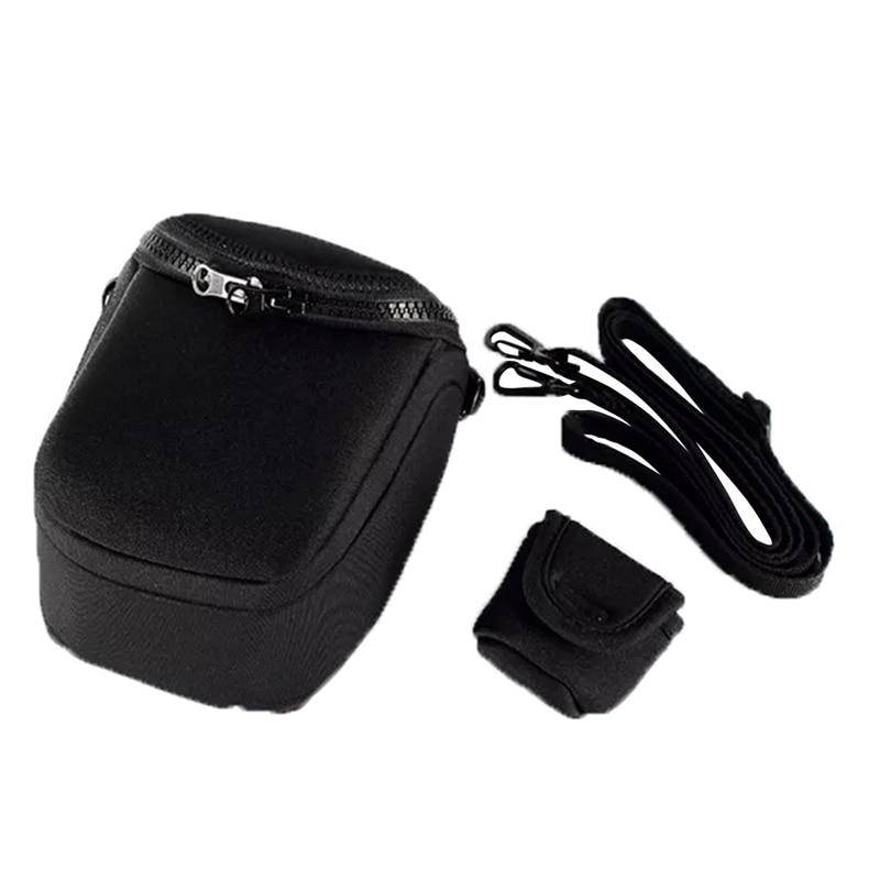 ABKK impermeable bolsa suave para cámara caso con correa para Canon Eos M100 M50 M10 M6 M5 M3 M2 G1Xiii G1Xii Sx530 Sx540 Sx430 y Pa