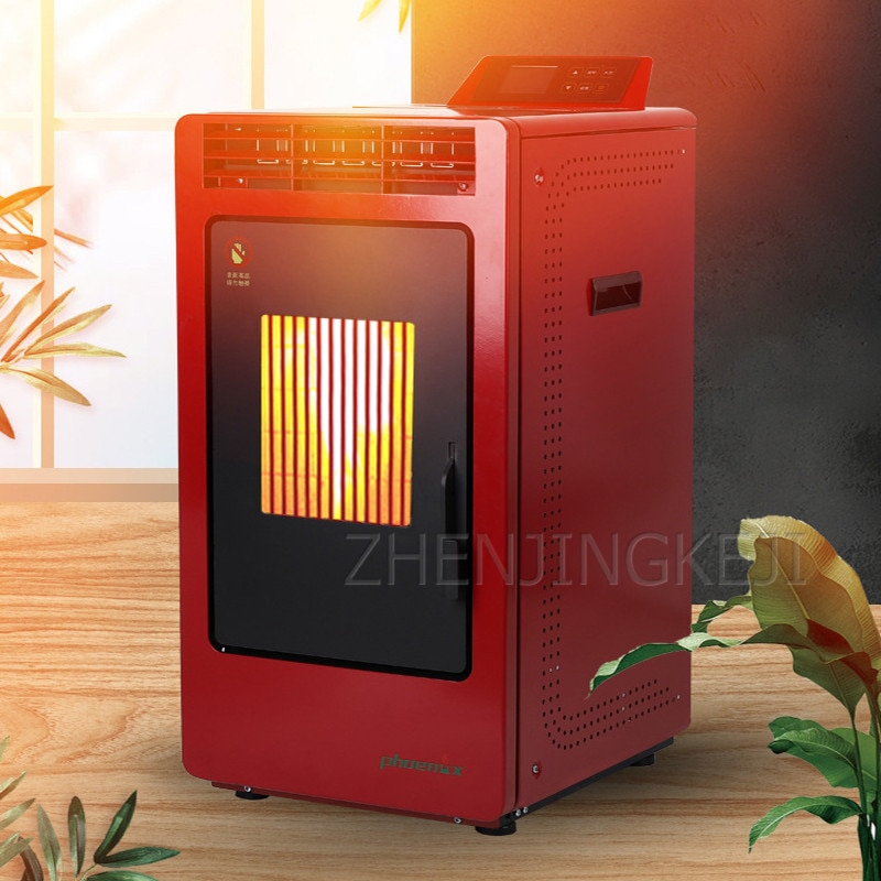 Home Biological Particles Heating Furnace Energy Saving Environmental Intelligent Automatic Defocusing Smokeless Heating Stove