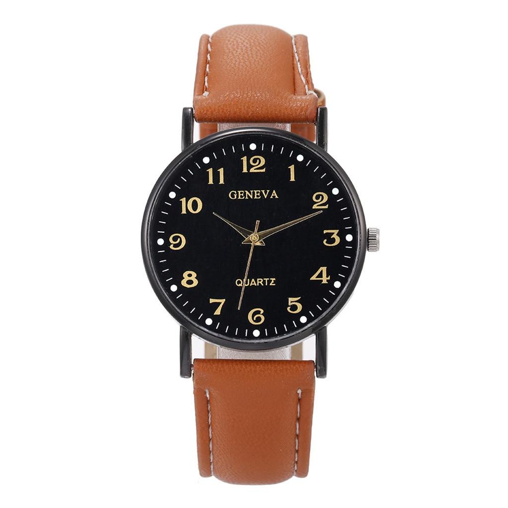 Women Watch Luxury Fashion Geneva Luxury Watches Quartz Watch Stainless Steel Dial Casual Bracele Watch Часы Женские Наручные