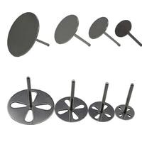 Шлифовальная бумага из нержавеющей стали, металлический диск 15 мм 20 мм 25 мм, фрезер для педикюра, роторная пилка для ногтей, наждачная бумага