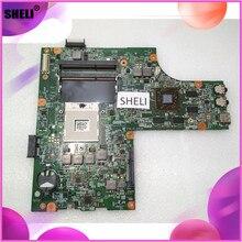 SHELI CN-052F31 052F31 52F31 Pour Dell 15R N5010 Carte Mère 48.4HH01.011