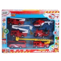 fire truck toys for kids 2 to 4 years old 119children fire engine toy fun family set red truck toy car