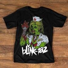 Rare Vtg Blink 182 Band Mens Cotton T Shirt All Size S M L 234Xl Bc459