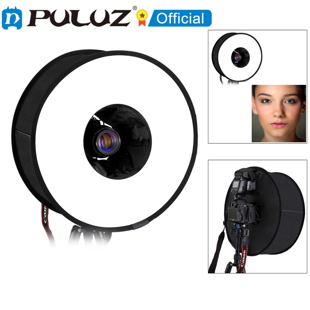 PULUZ-difusor de luz Flash SpeedLite caja difusora plegable para fotografía Macro y...