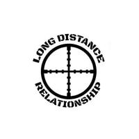 car decal long distance relationship decal usmc army navy sniper seal commando reconnaissance car decal blackwhite 15cm15cm