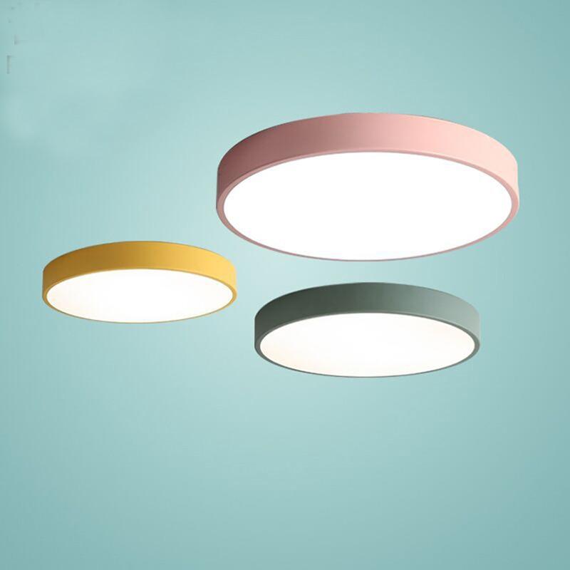 Modern simple acrylic Ceiling Light Plafonnier  LED 220V ceiling lamp for living room bedroom restaurant hallway study hotel