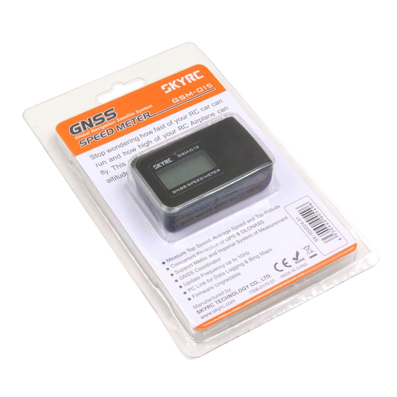 Upgraded SKYRC GSM-015 GNSS GPS Speed Meter for RC Drones FPV Multirotor Quadcopter Aircraft  Helicopter RC Car GPS Speed meter enlarge