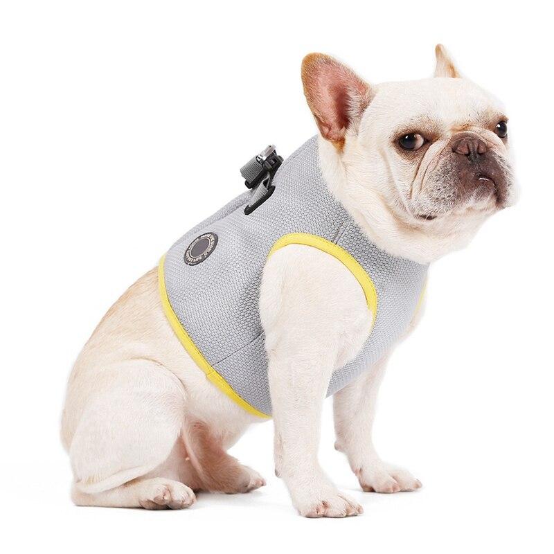 Summer Dog Cooling Vest Harness Cooler Jacket Adjustable Pet Mesh Reflective Vest Harnesses Quick Re